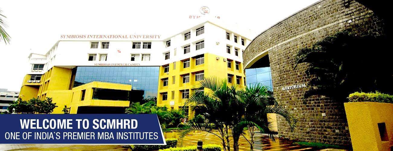 SCMHRD Pune college campus