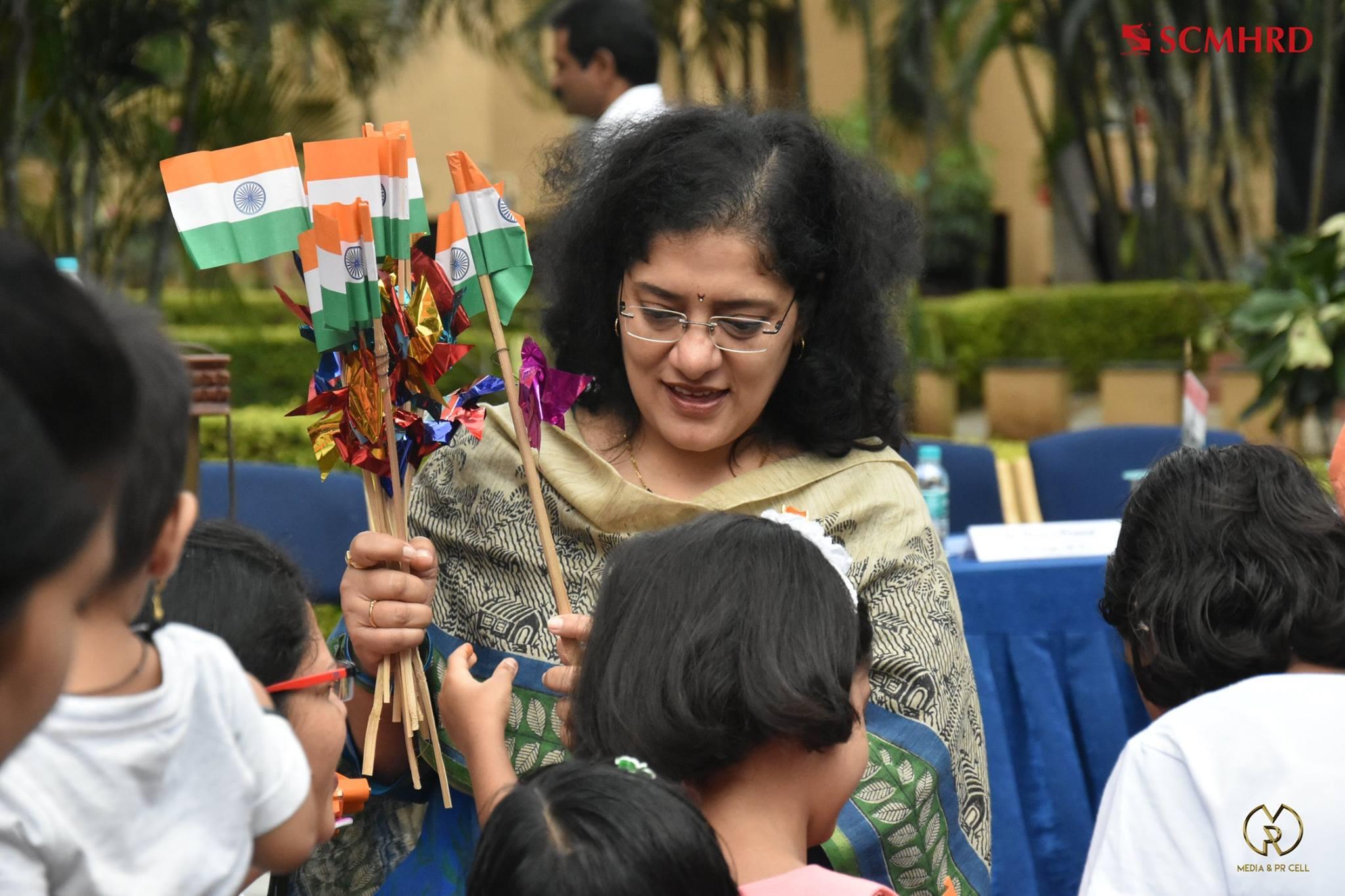 SCMHRD independence day celebration