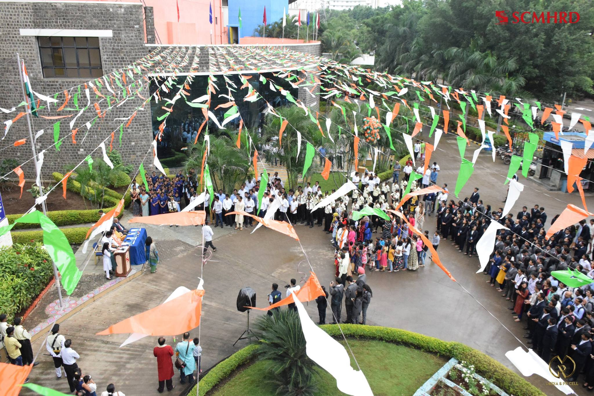 SCMHRD college independence day